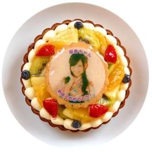 フルーツたっぷり写真ケーキ