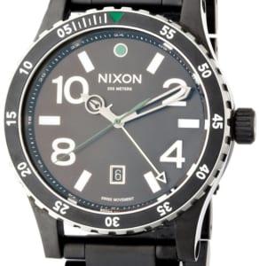 2年保証 新品 NIXON ニクソン ディプロマット ブラック