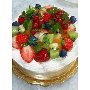 大人気! フルーツデコレーションケーキ【保存料未使用】