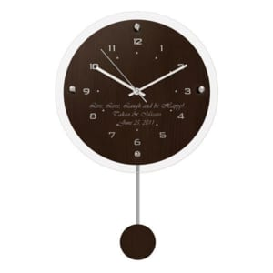 【名入れ】控えめな美しさが際立つ電波時計