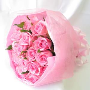 ころんとして可愛いバラのミニブーケ