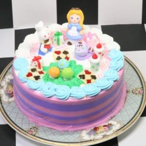 ブランティーグルの可愛いアリスケーキ