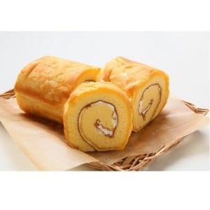 ロールケーキ バタークリーム バニラ味☆ 18.5cm