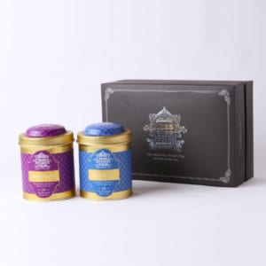 【ギフトボックス】 George Steuart Tea トライアングルバッグ2缶