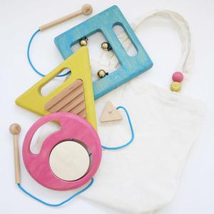 gg*(ジジ) gakki(ガッキ) 【子供用楽器 】木のおもちゃ(知育玩具)