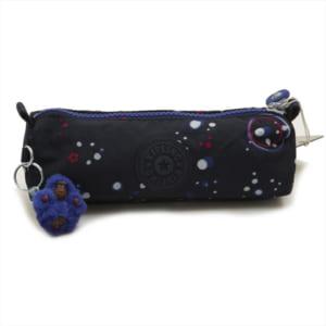 キプリング Kipling ポーチ 化粧ポーチ コスメポーチ ペンケース FREEDOM Galaxy Party ブルー系スペース柄マルチ K01373 38M