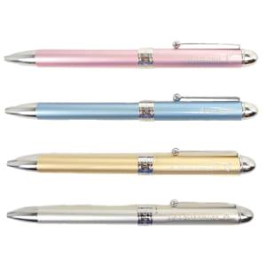 【名入れ/選べるカラー】プリザーブドフラワー付きの多機能シャーペン