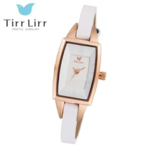 【選べるカラー】ティルリルの高級牛革を使用したコーディネートしやすい腕時計