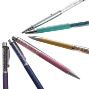 【名入れ/選べるカラー】スワロフスキークリスタルを使用したボールペン