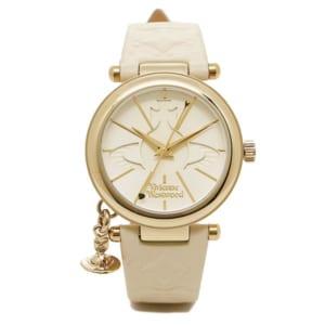 ヴィヴィアンウエストウッド Vivienne Westwood 腕時計 ヴィヴィアン 時計 ヴィヴィアンウエストウッド 腕時計 レディース VIVIENNE WESTWOOD VV006WHWH ORB II ホワイト by ブランドショップAXES(日本流通自主管理協会会員)