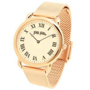 フォリフォリ 時計 FOLLI FOLLIE WF16R013BPS パーフェクト レディース腕時計ウォッチ ホワイト/ピンクゴールド by ブランドショップAXES(日本流通自主管理協会会員)