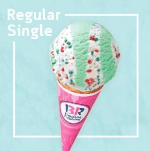 サーティワンアイスクリーム レギュラーシングルギフト券