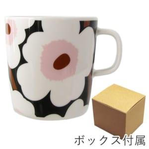 マリメッコ Marimekko マグカップ コップ 400ml 食器 UNIKKO ウニッコ ホワイト×グリーン×ピンク