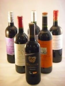 赤ワイン6本セット飲み比べ