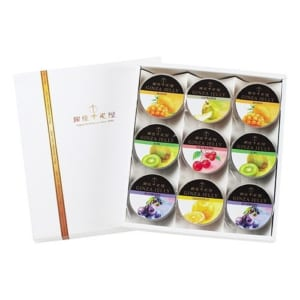 【送料無料】「銀座千疋屋 銀座ゼリー 9個入り」フルーツの老舗銀座千疋屋のスイーツ。果物の味をそのまま生かし上品でフルーティな香りと優しい甘みに仕上げたフルーツゼリーの詰合せ。 by JAPAN GIFT LAB