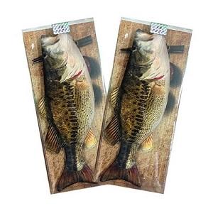 『小学館 Good Item Award』『JAPAN HOMECENTER SHOW』受賞作!おしゃれ♪ シンプルで可愛い【Fishi & Fancy ポーチ&ペンケース (ブラックバス)】 ハンドメード製 [4571440873906]  by ミラクルストア