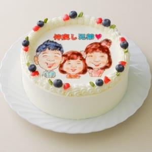 世界にたった一つだけのオリジナルデコレーションケーキ