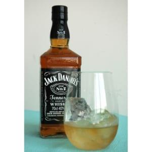 枯れないお花とお酒のセット ウイスキー