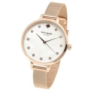 ケイトスペード 時計 KATE SPADE KSW1492 METRO MESH メトロメッシュ レディース腕時計ウォッチ ローズゴールド by ブランドショップAXES(日本流通自主管理協会会員)