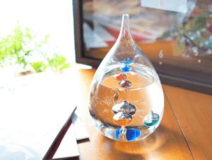 【名入れ】 ガリレオ温度計 ドロップ