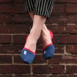 London Shoe Make THE SOCKS  No,118906 愛好家/ Lover 滑り止め付き メンズカバーソックス 日本製 靴下 by London Shoe Make Shop