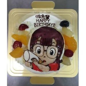 立体生クリームデコレーションケーキ 4号