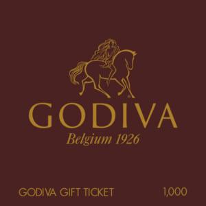 ギフト券(1000円) by GODIVA