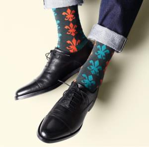 London Shoe Make THE SOCKS| No,417902 騎士団/knights 日本製 メンズソックス 靴下 by London Shoe Make Shop