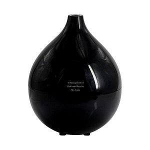 【名入れ】アロマ超音波加湿器ドロップ [ブラック・ホワイト・ウッド インテリア 加湿器 アロマ かわいい] by スマートギフト