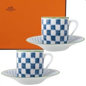 エルメス コーヒーカップ&ソーサー