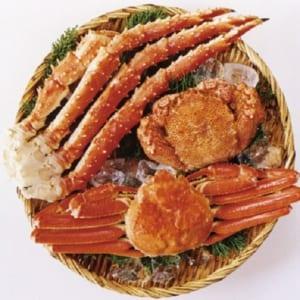 【送料無料】毛蟹・ずわいがに・タラバガニ 蟹3種食べ比べセット by JAPAN GIFT LAB