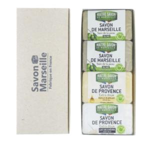 マルセイユ石鹸 マルセイユ香りの石鹸 ギフトセレクション