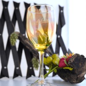 日本製カラーワイングラス250ml