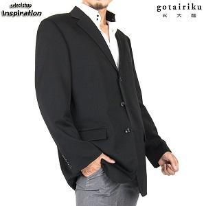 五大陸 ジャケット 黒 830 lw0509-005 メンズ 紳士 by セレクトショップ インスピレーション
