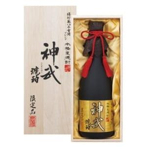 「神武」 琥珀 (25度) 桐箱入り 麦焼酎
