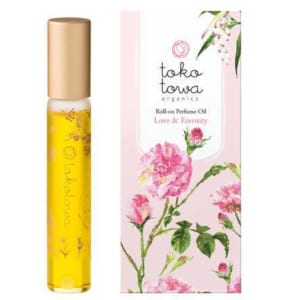 ロールオンパフュームオイル ピンク by tokotowa organics