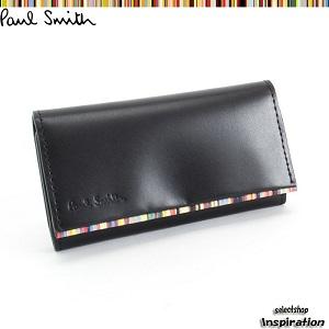 ポールスミス Paul Smith キーケース 黒 psu052-10 ブラック メンズ 紳士 by セレクトショップ インスピレーション