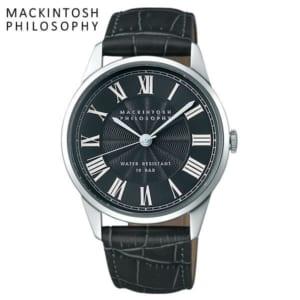 MACKINTOSH PHILOSOPHY マッキントッシュ フィロソフィー クオーツ腕時計 メンズ 10気圧防水 ローマンインデックス 牛皮革 クラシカル FCZK992 by CAMERON