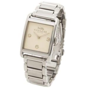 コーチ 時計 COACH 14502837 RENWICK レンウィック レディース腕時計ウォッチ シルバー/ホワイト by ブランドショップAXES(日本流通自主管理協会会員)