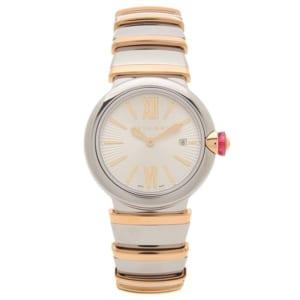ブルガリ 時計 BVLGARI LU28C6SSPGD ルチェア 28MM レディース腕時計ウォッチ シルバー/ピンクゴールド by ブランドショップAXES(日本流通自主管理協会会員)