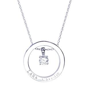 LARA Christie (ララクリスティー)ヴォヤージュ ネックレス ホワイト[ WHITE Label ] シルバー ネックレス レディース by ジュエリー王国