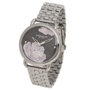 コーチ 時計 COACH 14503165 DELANCEY デランシー 36MM フラワー 花柄 レディース腕時計ウォッチ ガンメタル/ブラック by ブランドショップAXES(日本流通自主管理協会会員)