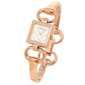 グッチ GUCCI 時計 腕時計 グッチ 時計 レディース GUCCI YA120519 トルナウ゛ォーニ 腕時計 ウォッチ シルバー/ピンクゴールド by ブランドショップAXES(日本流通自主管理協会会員)