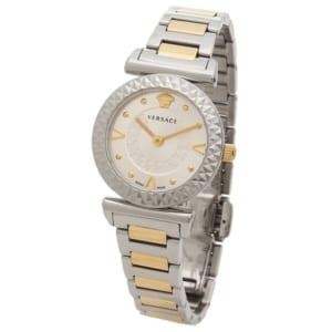 ヴェルサーチ 時計 VERSACE VEAA00418 MINI VANITY レディース腕時計ウォッチ シルバー/ローズゴールド by ブランドショップAXES(日本流通自主管理協会会員)