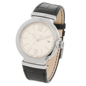 BVLGARI 時計 ブルガリ LU40C6SLD ルチア メンズ腕時計 ウォッチ シルバー/ブラック by ブランドショップAXES(日本流通自主管理協会会員)