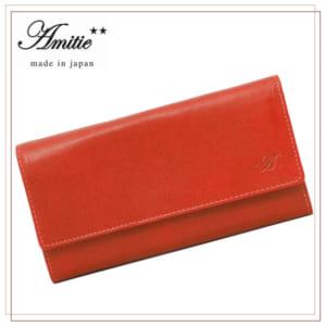 アミティエ 小銭入れ付き長財布