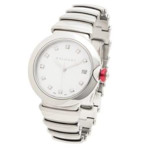 ブルガリ 時計 BVLGARI LU36WSSD/11 ルチェア 自動巻き レディース腕時計ウォッチ シルバー by ブランドショップAXES(日本流通自主管理協会会員)