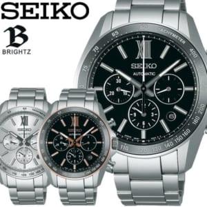 【送料無料】【SEIKO BRIGHTZ】 セイコー ブライツ 腕時計 自動巻き クロノグラフ 10気圧防水 メンズ メカニカル SDGZ009 SDGZ011 SDGZ012 ウォッチ MEN'S by CAMERON