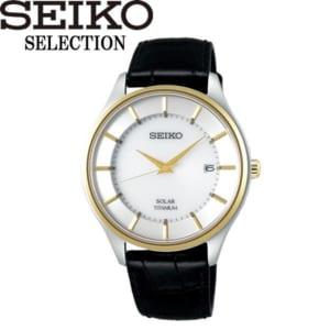 【送料無料】SEIKO SELECTION セイコー セレクション 腕時計 ウォッチ メンズ 男性用 ソーラー 10気圧防水 sbpx104 by CAMERON