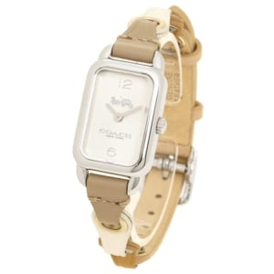 コーチ 時計 レディース COACH 14502961 LUDLOW テイタム レディース腕時計ウォッチ ブラウン/シルバー by ブランドショップAXES(日本流通自主管理協会会員)